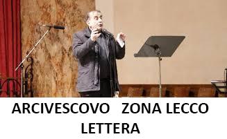 LETTERA ARCIVESCOVO  ZONA LECCO